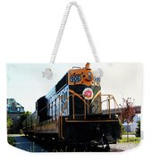 Train Museum - End Of The Line - Canadian National Railway Weekender Tote Bag