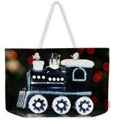 Train Ornament Weekender Tote Bag