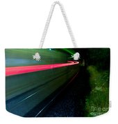 Train Pass By Weekender Tote Bag