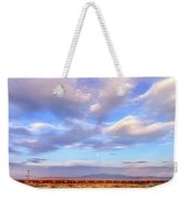 Train Passing Through A Desert, New Weekender Tote Bag