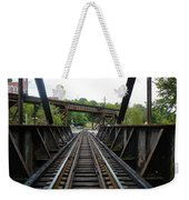 Train Pov Weekender Tote Bag
