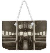 Train Ride Weekender Tote Bag