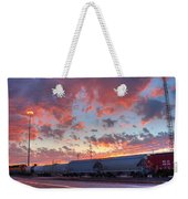 Train Setting Weekender Tote Bag