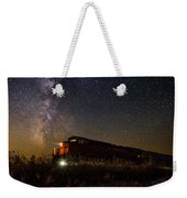 Train To The Cosmos Weekender Tote Bag