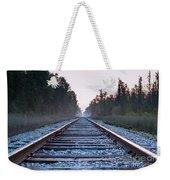 Train Tracks To Nowhere Weekender Tote Bag