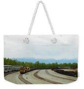 Train Tracks Weekender Tote Bag