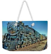 Train Travel Weekender Tote Bag