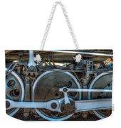 Train Wheels Weekender Tote Bag