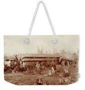 Train Wreck, 1890s Weekender Tote Bag