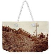 Train Wreck, C1900 Weekender Tote Bag