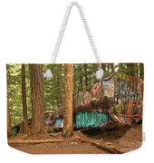 Train Wreck Canvas Among The Trees Weekender Tote Bag