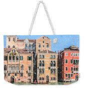 Training On The Grand Canal Weekender Tote Bag