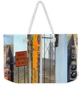 Trains And Coal Mining Weekender Tote Bag