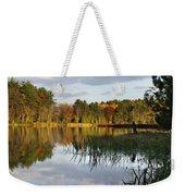 Tranquil Autumn Landscape Weekender Tote Bag