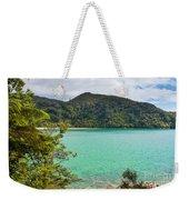 Tranquil Bay In Abel Tasman Np In New Zealand Weekender Tote Bag