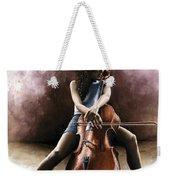 Tranquil Cellist Weekender Tote Bag