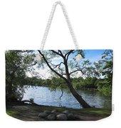 Tranquil Lake Weekender Tote Bag