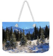 Tranquil Mountain Scene Weekender Tote Bag