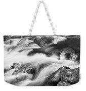 Tranquility In Black And White Weekender Tote Bag