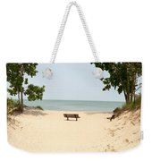 Tranquility Painterly Weekender Tote Bag