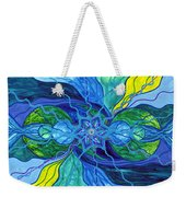 Tranquility Weekender Tote Bag by Teal Eye  Print Store