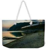 Trans Siberian Sunset Weekender Tote Bag