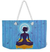 Transcendental Meditation Weekender Tote Bag