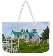 Transfiguration Of Our Lord Russian Orthodox Church In Ninilchik-ak Weekender Tote Bag