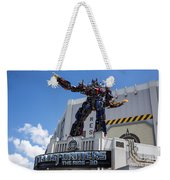 Transformers The Ride 3d Universal Studios Weekender Tote Bag