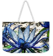 Translucent Blues Weekender Tote Bag