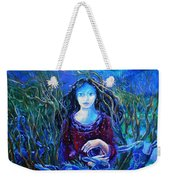 Eostra Holds The Moon Weekender Tote Bag