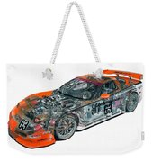 Transparent Car Concept Made In 3d Graphics 10  Weekender Tote Bag