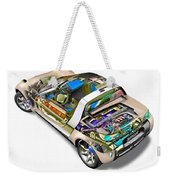 Transparent Car Concept Made In 3d Graphics 2 Weekender Tote Bag