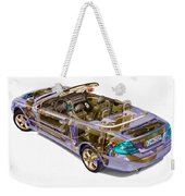 Transparent Car Concept Made In 3d Graphics 6 Weekender Tote Bag