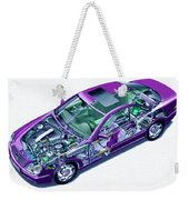 Transparent Car Concept Made In 3d Graphics 8 Weekender Tote Bag