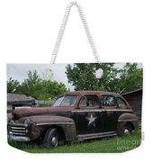 Transportation - Classic - Highway Patrol Weekender Tote Bag