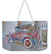 Transportation Grunge Weekender Tote Bag