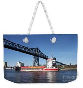 Transporter Bridge Over Canal Rendsburg Weekender Tote Bag