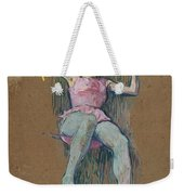 Trapeze Artist At The Medrano Circus Weekender Tote Bag