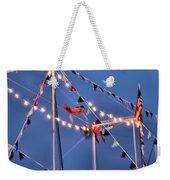 Trapeze Blur Weekender Tote Bag