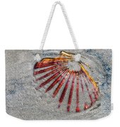 Trapped By The Tide Weekender Tote Bag