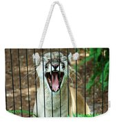 Trapped In A Cage Weekender Tote Bag