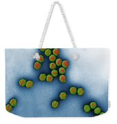 Trasmission Electron Micrograph Weekender Tote Bag