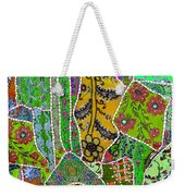 Travel Shopping Colorful Tapestry 8 India Rajasthan Weekender Tote Bag