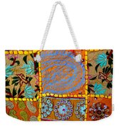Travel Shopping Colorful Tapestry 9 India Rajasthan Weekender Tote Bag