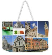 Travel To Venice  Weekender Tote Bag