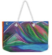 Travelers Mountains By Jrr Weekender Tote Bag