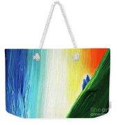 Travelers Rainbow Waterfall Detail Weekender Tote Bag