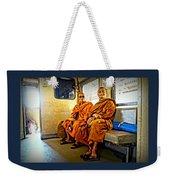 Traveling Monks Weekender Tote Bag