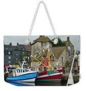Trawlers In Honfleur Weekender Tote Bag